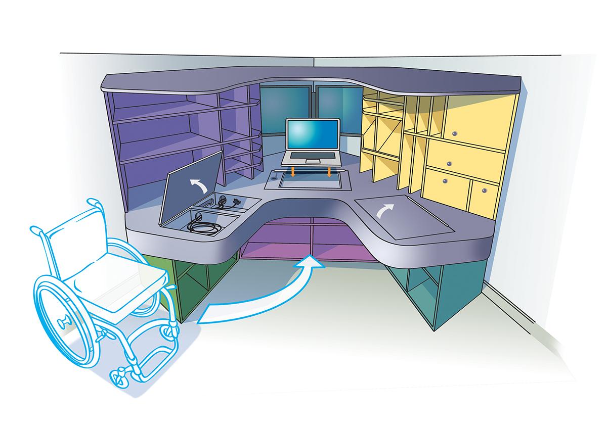 bureau-adapt-handi-desk